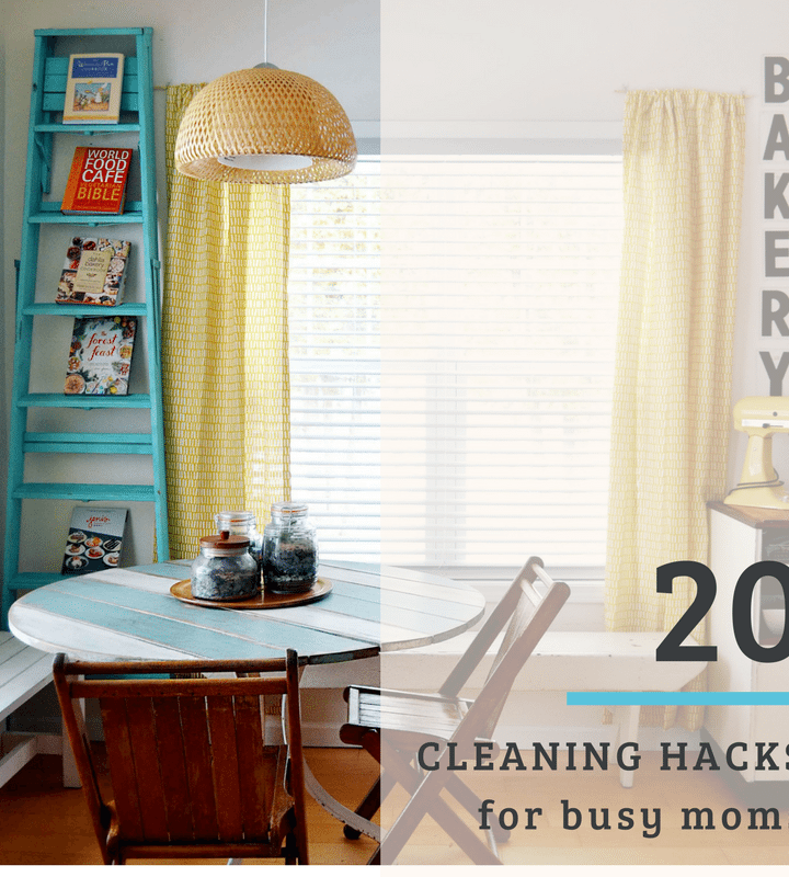 20 Cleaning Hacks for busy moms
