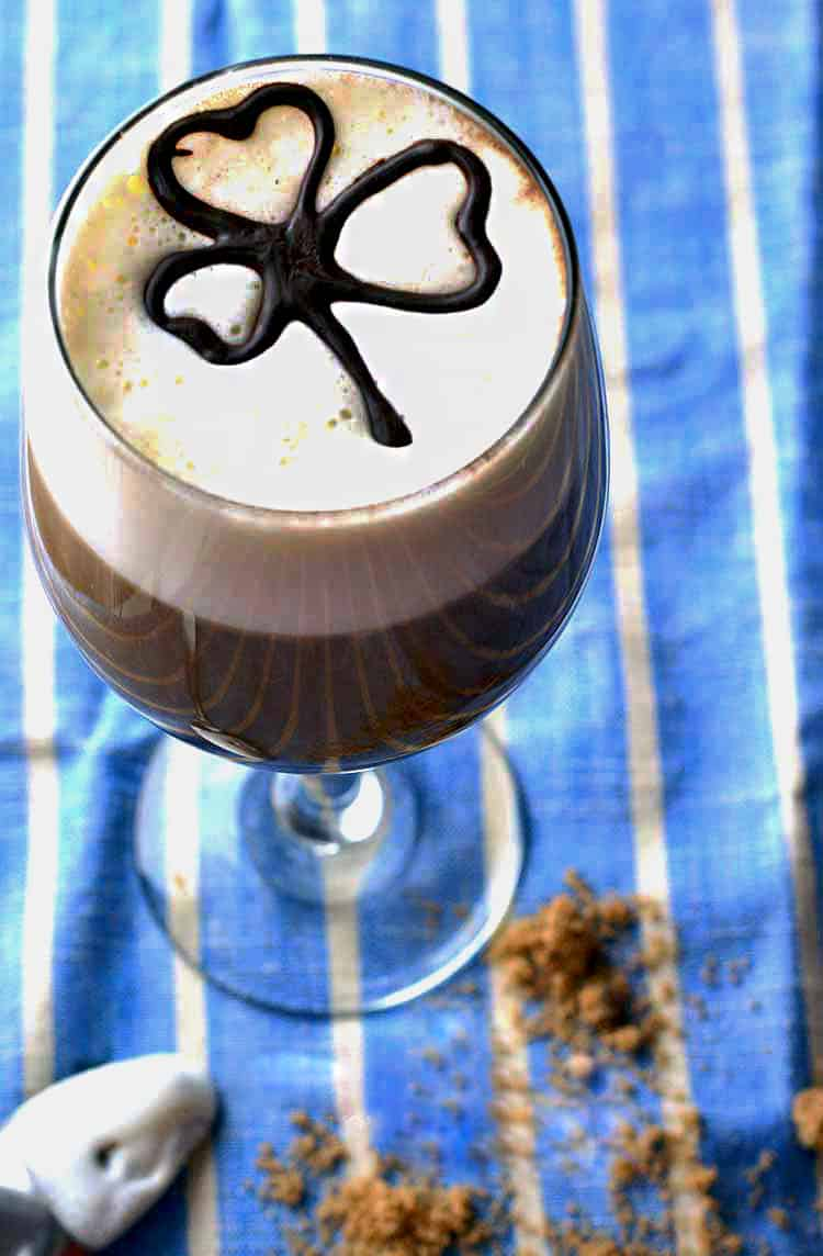the easiest and BEST Irish coffee recipe