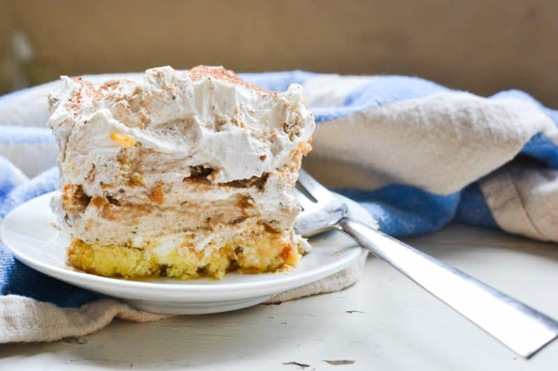 Twinkie Tiramisu. An easy to make, delicious version of the classic favorite!