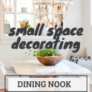 Small dining room ideas. Utilize a small space for a charming and functional dining space.