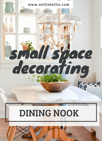 Small Space Decorating: Small Dining Room