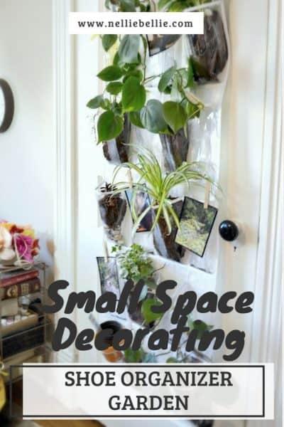 easy shoe organizer garden | Small Space Decorating