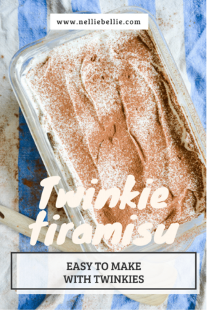 An incredibly easy Twinkie Tiramsu!