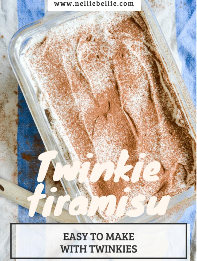 An incredibly easy Twinkie Tiramsu!
