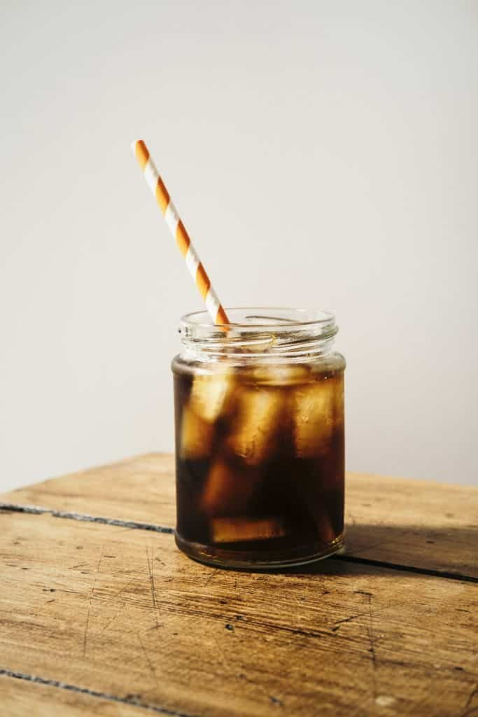 easy homemade cold-brewed iced coffee