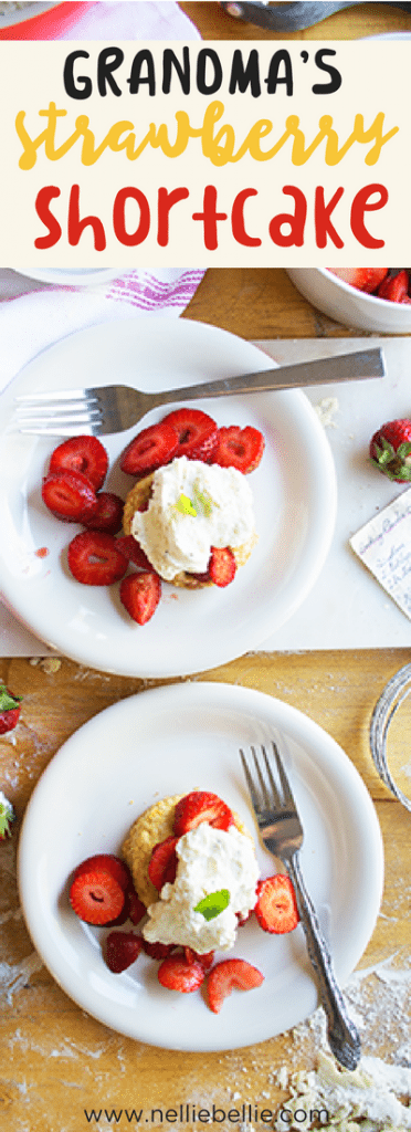 Grandma's Homemade Strawberry Shortcake Recipe. Delicious homemade biscuits, sweet strawberries, and homemade whipped cream. ad Driscoll's BerryTogether