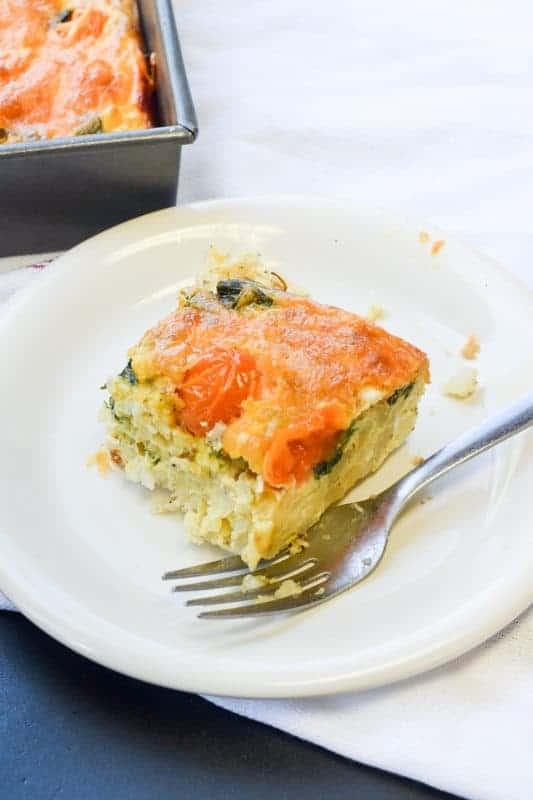 Veggie Egg Bake