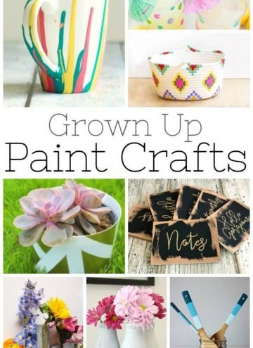 25 simple paint crafts for your home