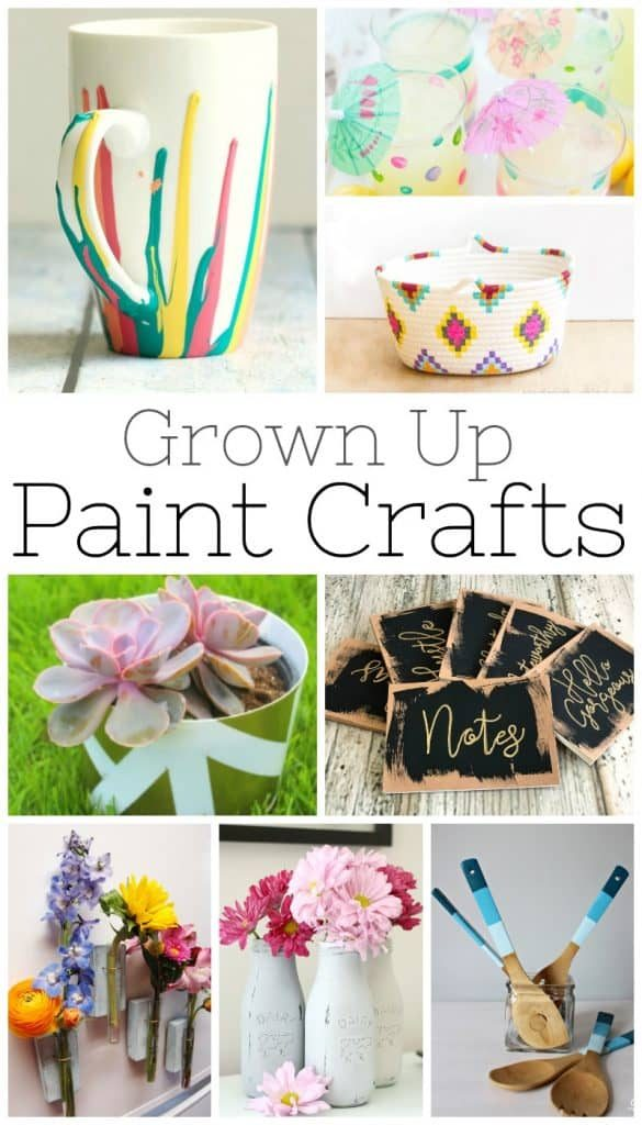 25 Simple Paint Crafts For Easy Home Decor Nelliebellie