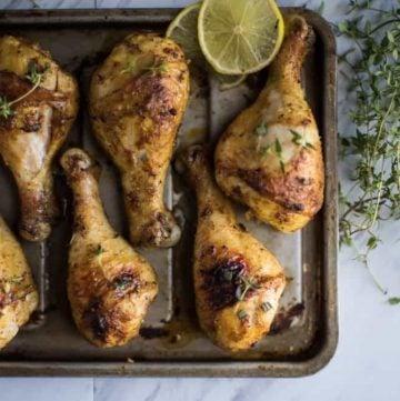 easy oven baked chicken drumsticks