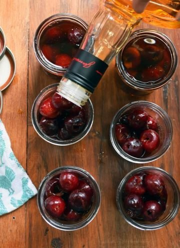 homemade cherry bourbon