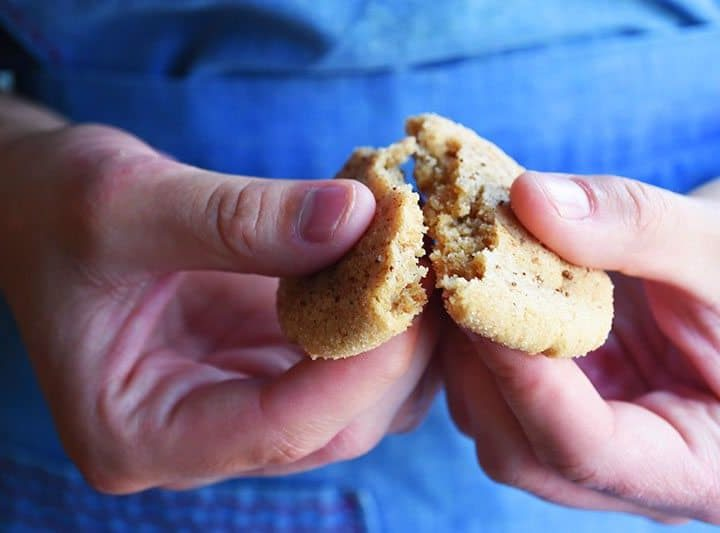 easy Ginger Cookies Recipe (no molasses)