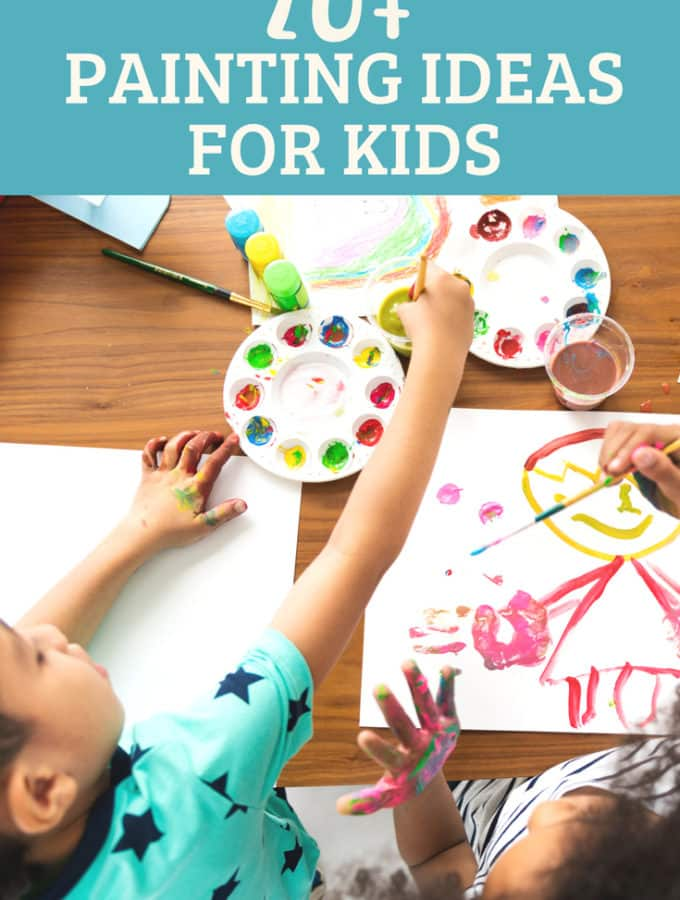20+ Paint Crafts for Kids