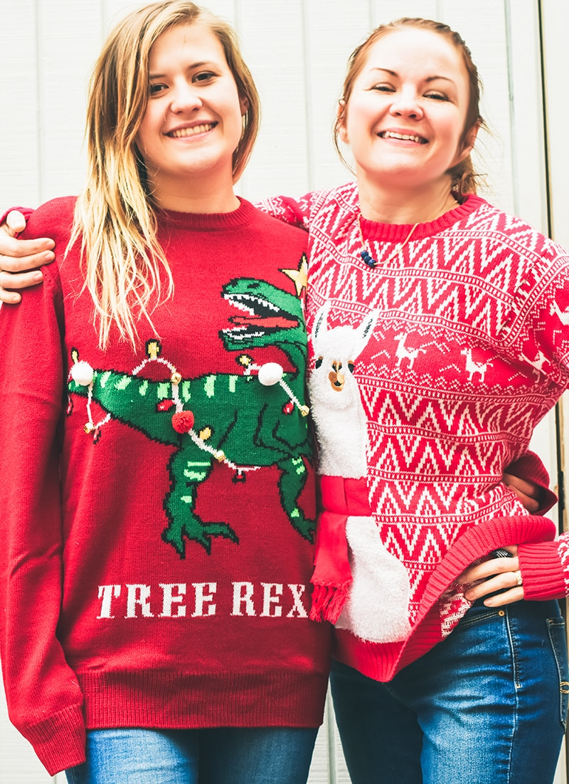 Ugly Christmas Family Pictures.Ugly Christmas Sweaters For The Whole Family Nelliebellie