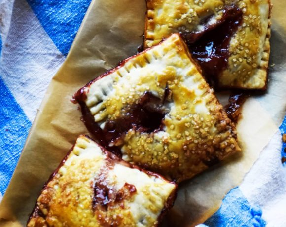 homemade pop tarts made with pie crusts. So easy to do!