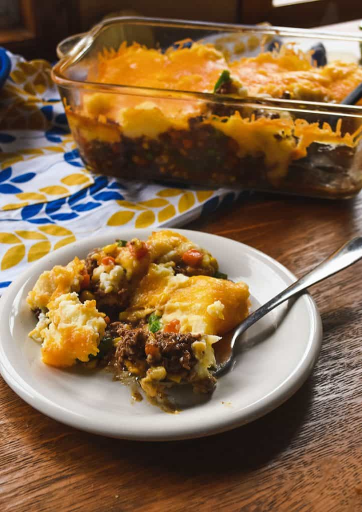 Easy Cheesy Ground Beef Shepherd S Pie Cottage Pie