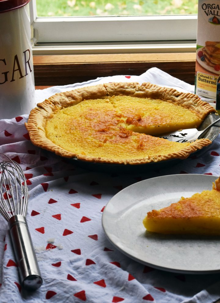 Old-fashioned Buttermilk Pie    Farm Discovery Day