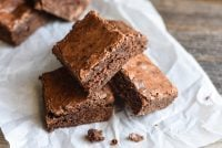 old-fashioned brownie recipe