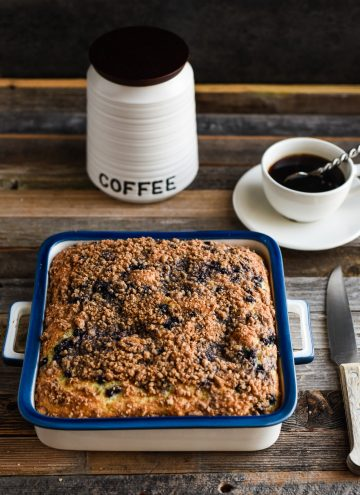 easy Blueberry Coffee Cake