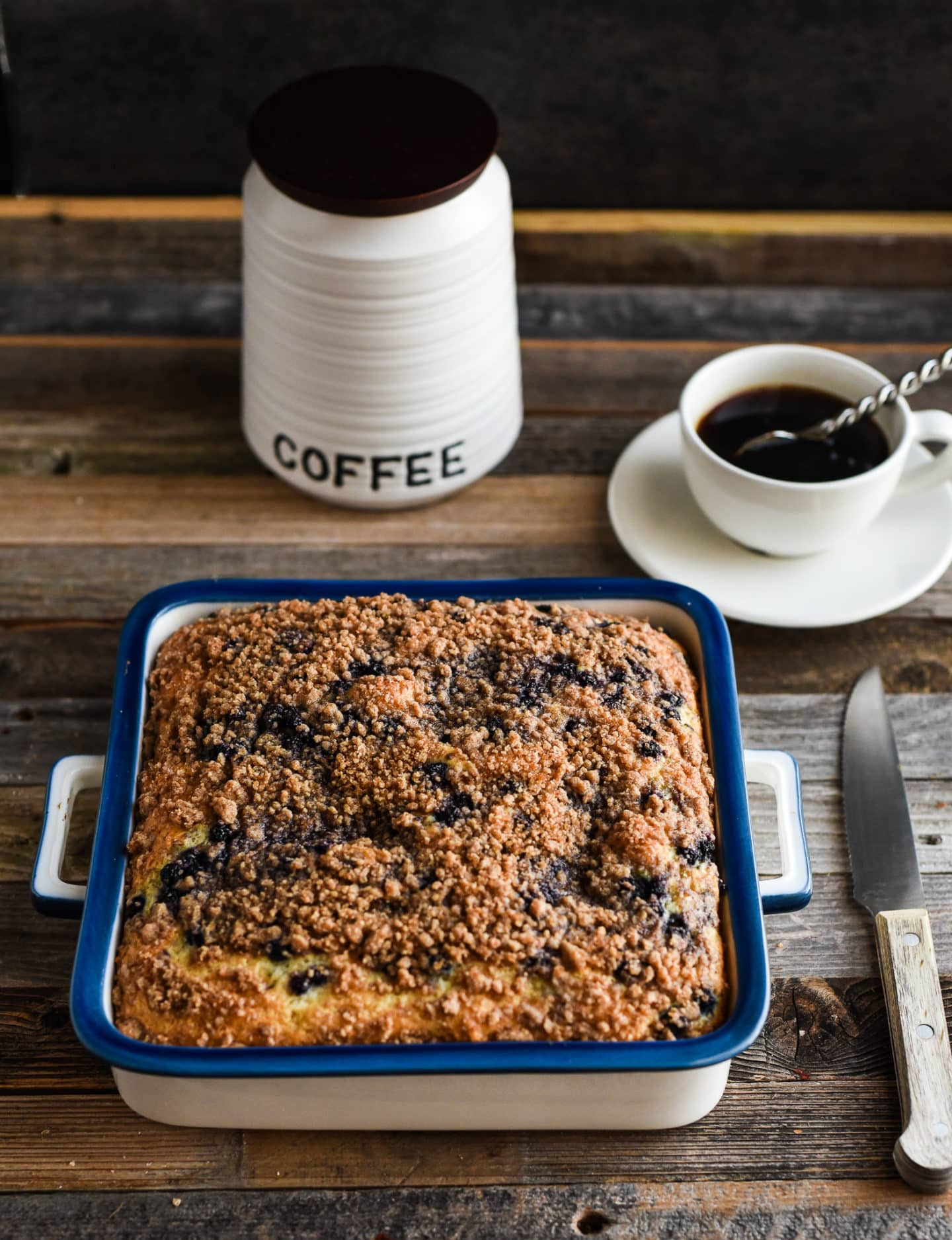 Old fashioned coffee cake 39