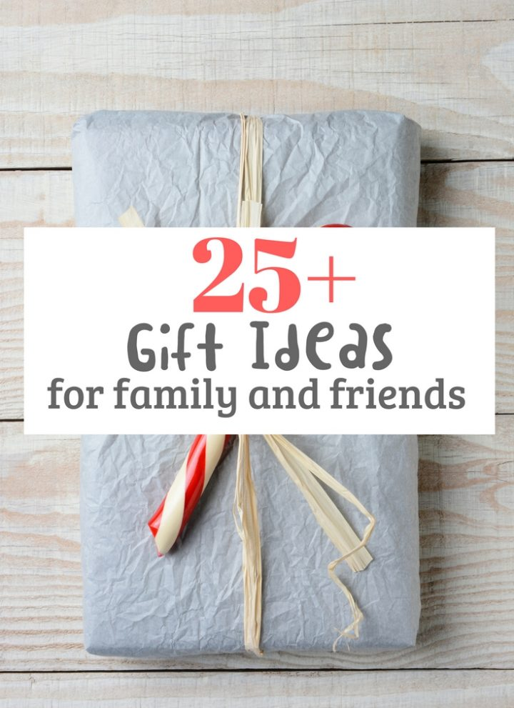 25+ Christmas Gift Ideas for family & friends (under $50)