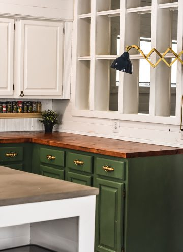Finally, the kitchen reveal!