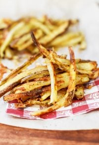 easy Baked Homemade French Fries