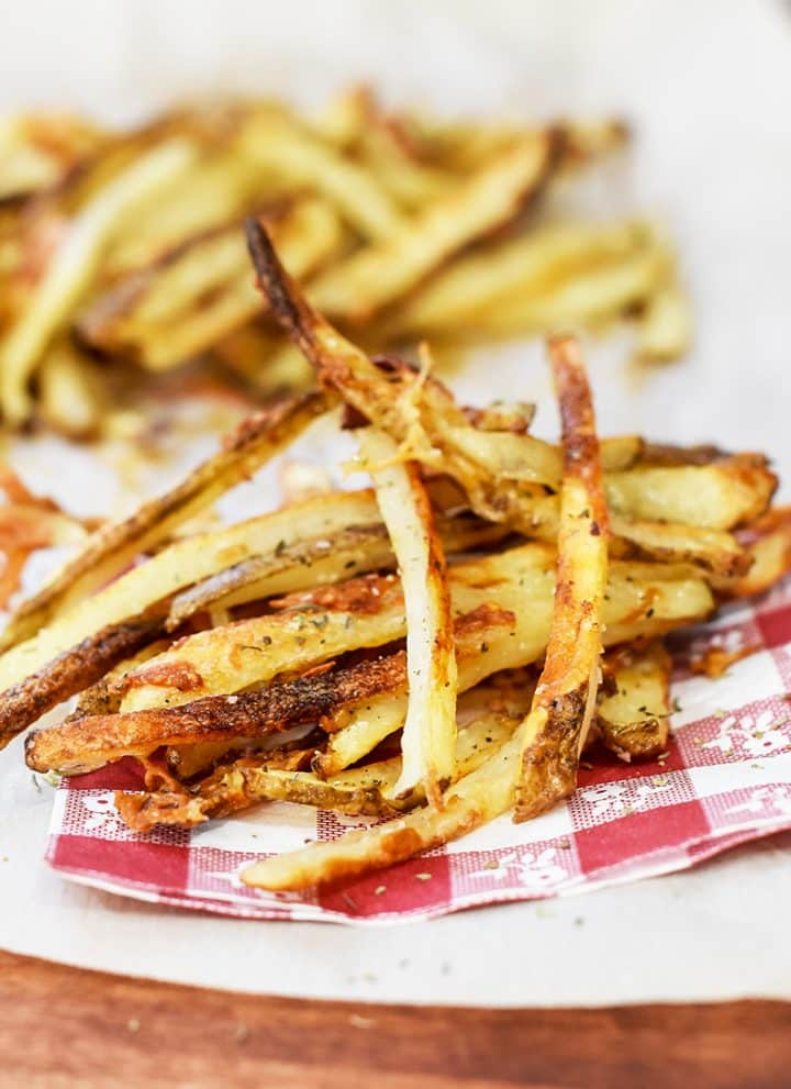 baked homemade french fries