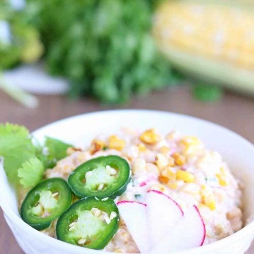 roasted corn salad with fresh sweet corn