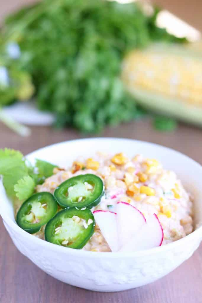 roasted corn salad with fresh sweet corn