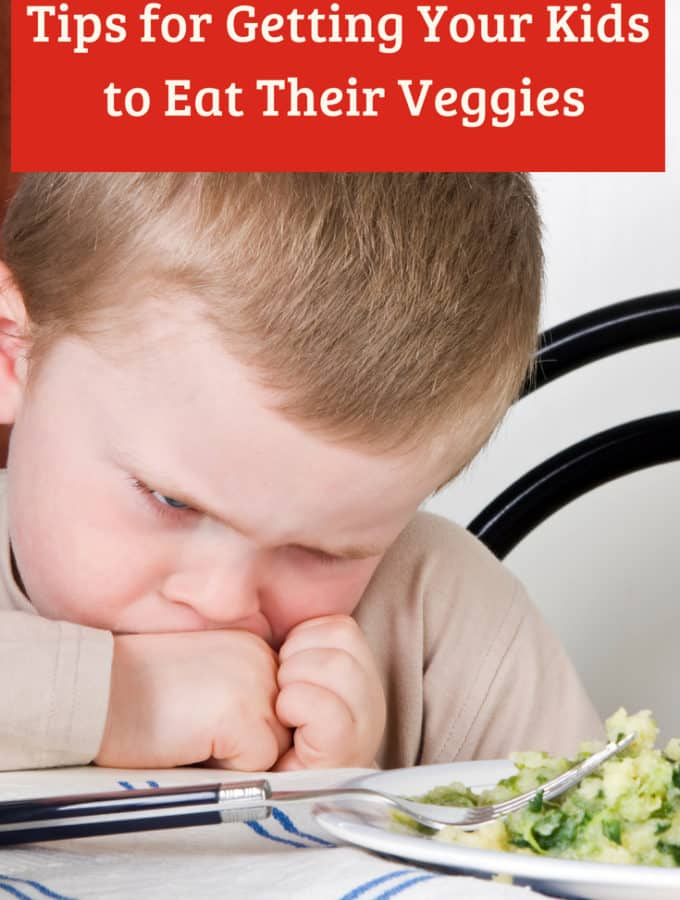 Tips for Getting Your Kids to Eat Their Veggies