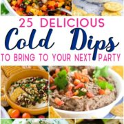 delicious cold dips to bring to your summer party!