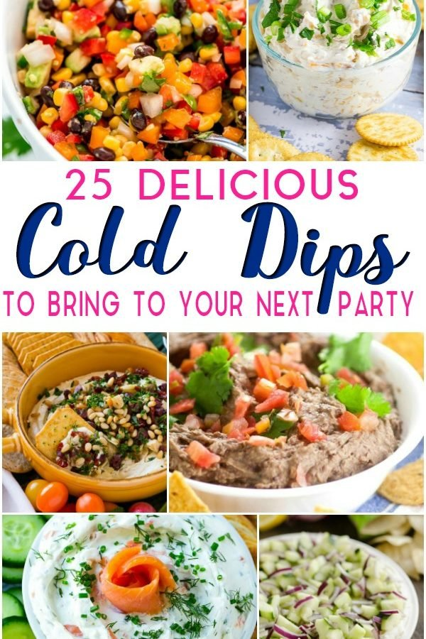 a gazillion of my favorite Cold Dip Recipes