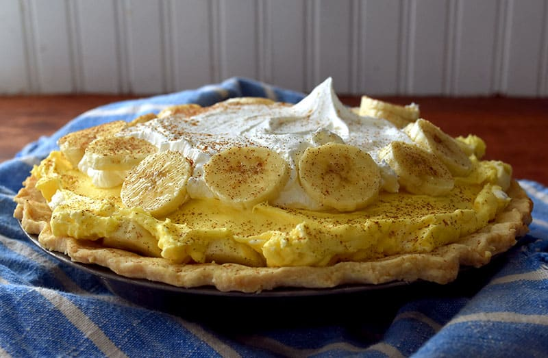 An easy, creamy, and delicious Banana Cream Pie recipe full of flavor!