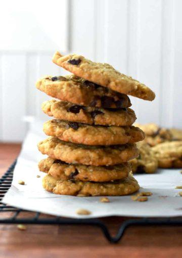 Sunflower Seed Chocolate Chip Cookies