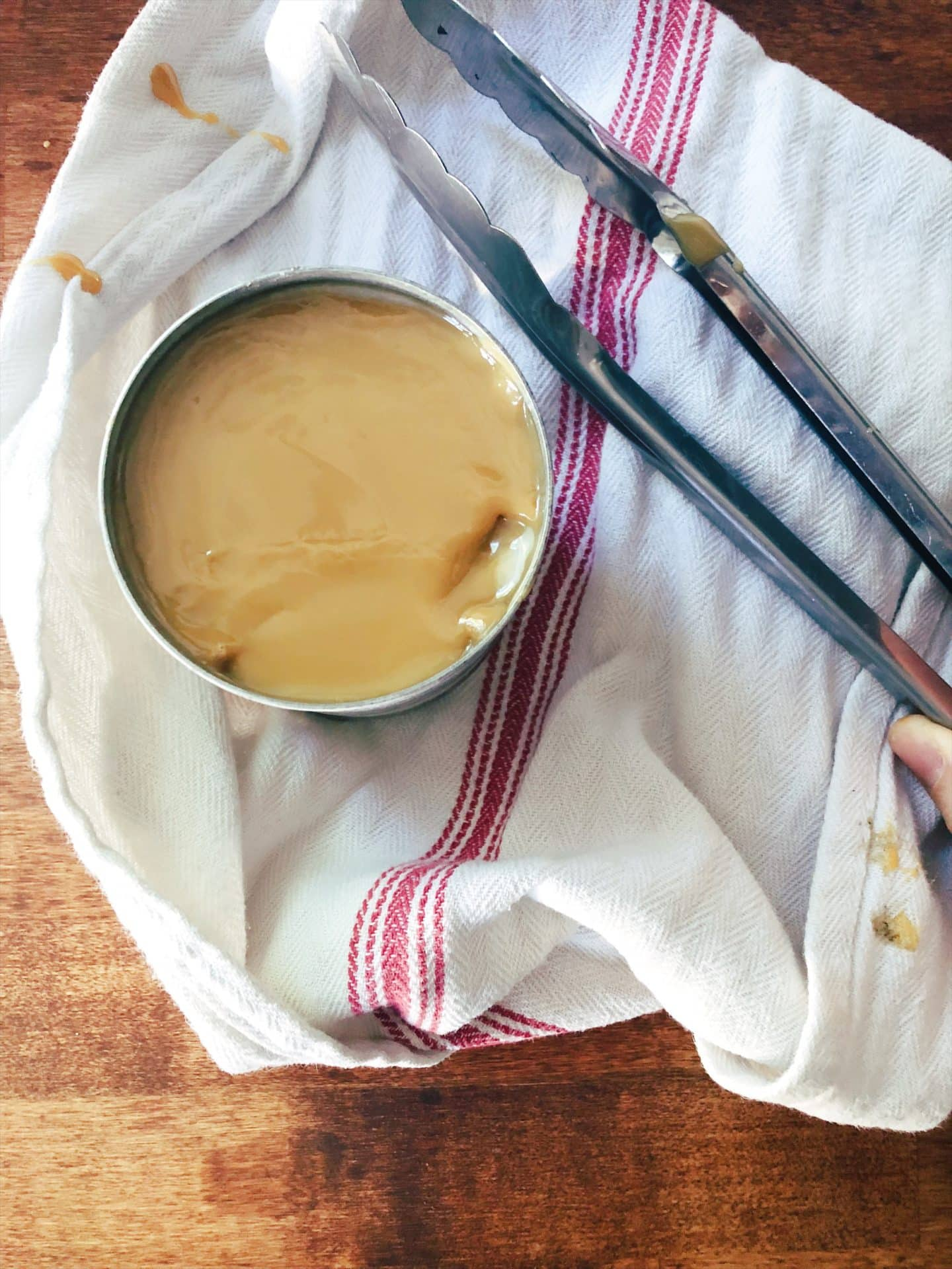 sweetened condensed milk caramel