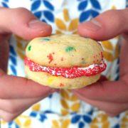 cake mix sandwich cookies