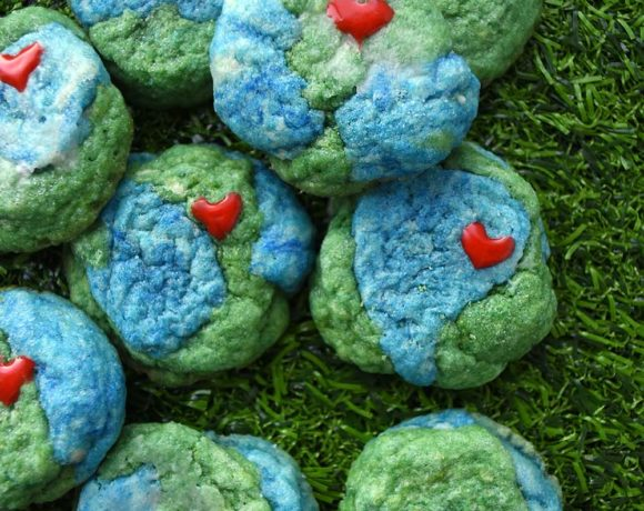 Earth cookies - an Earth Day dessert