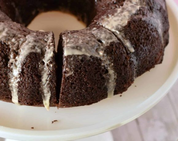 Bailey's chocolate cake is a great way to combine chocolate and baileys