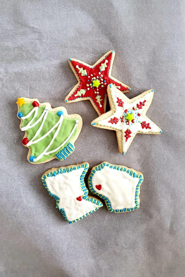 Sugar cookies perfect for kids to make!