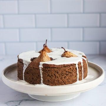 Gluten free pear cake