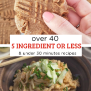 Over 40 5 Ingredient or Less