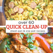 over 60 Quick Clean-up