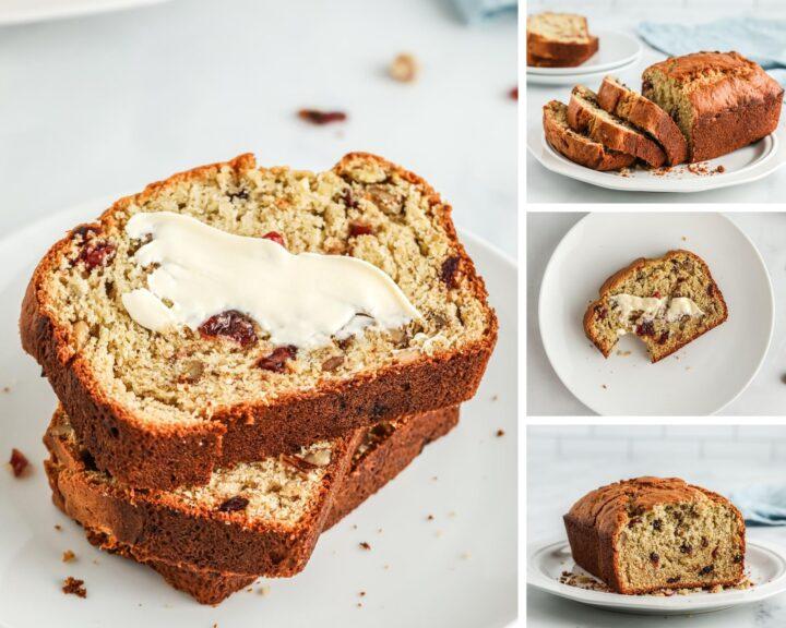 Cranberry Walnut Banana Bread