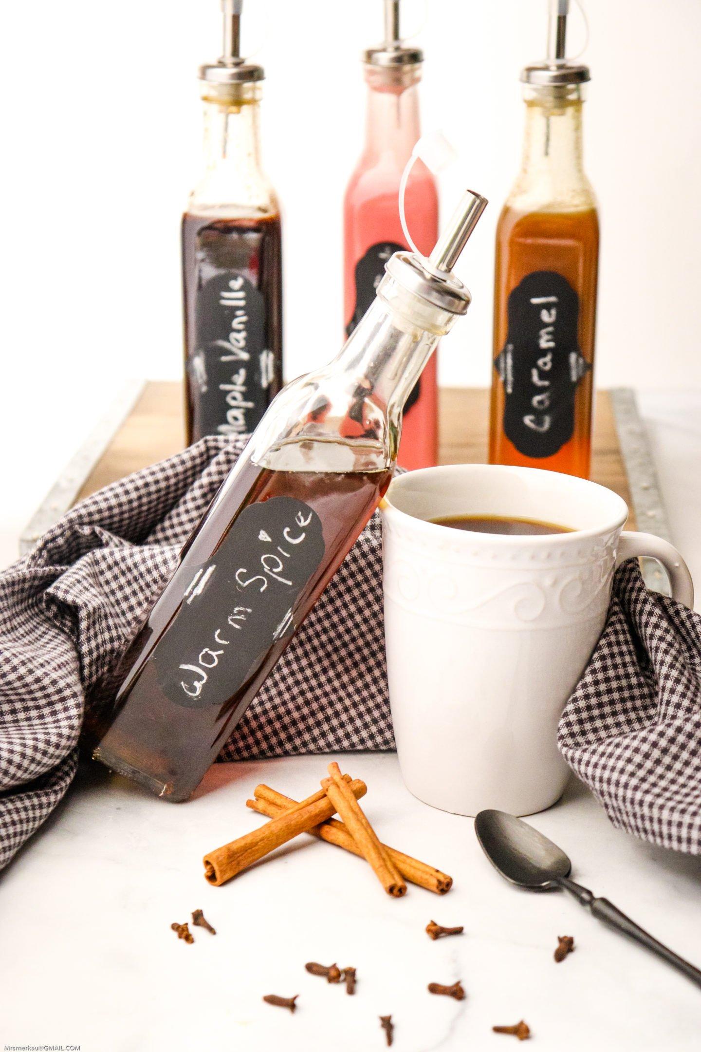 Homemade Warm Spice Coffee Flavor