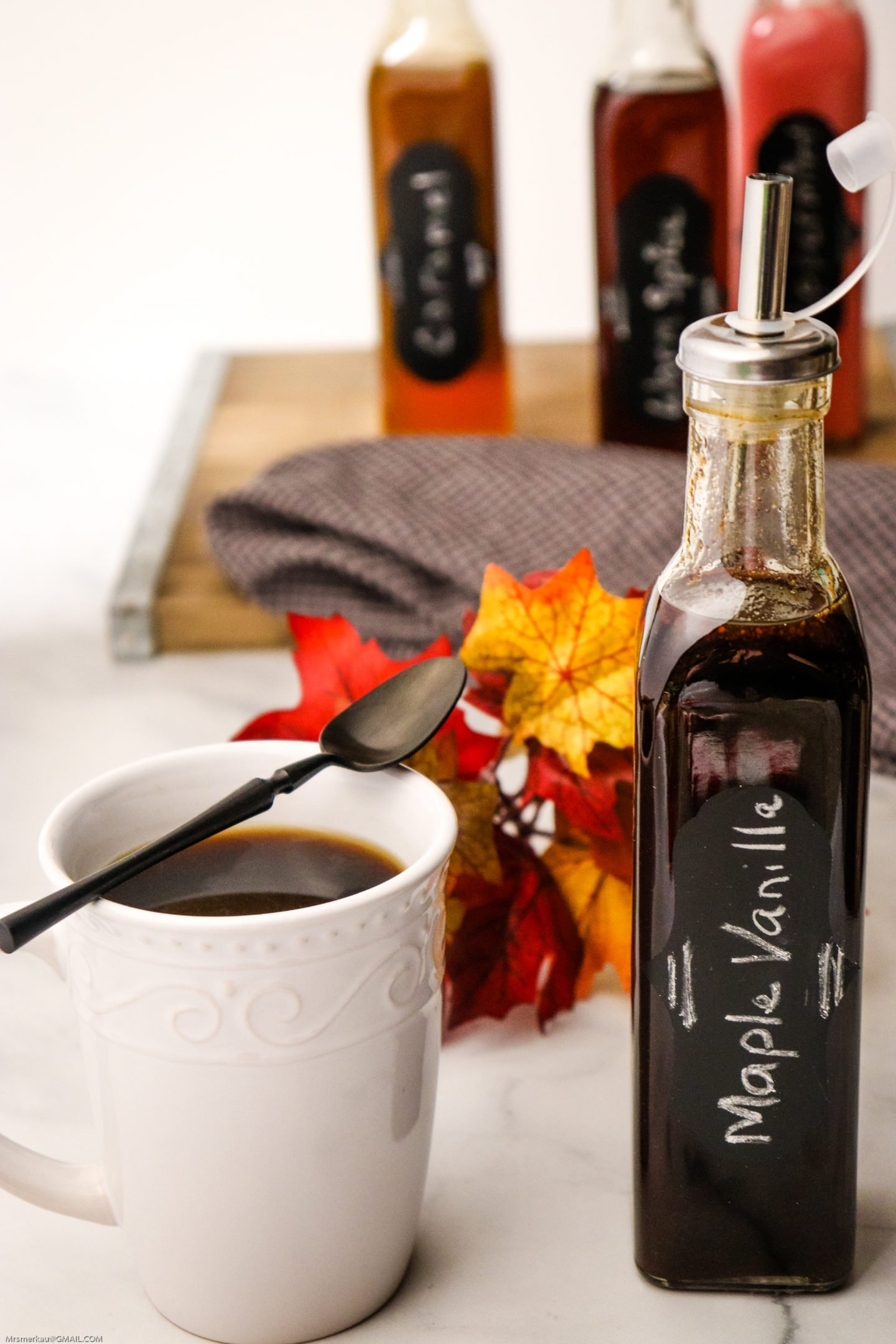 homemade Maple Vanilla Coffee flavor
