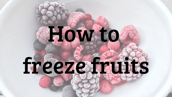 Janel Hutton from NellieBellie shows you how to freeze specific fruits.