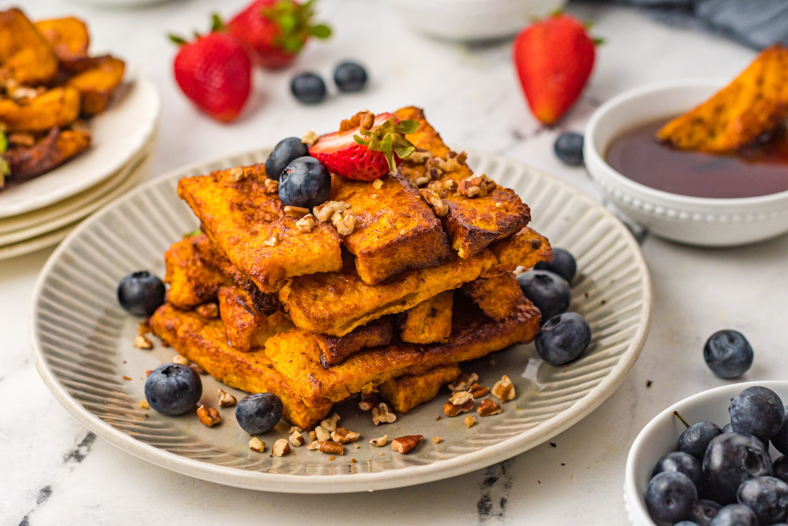 French Toast sticks made in the Air Fryer