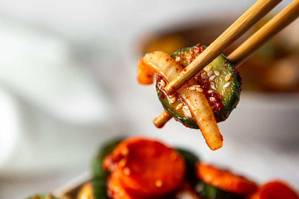 easy cucumber kimchi