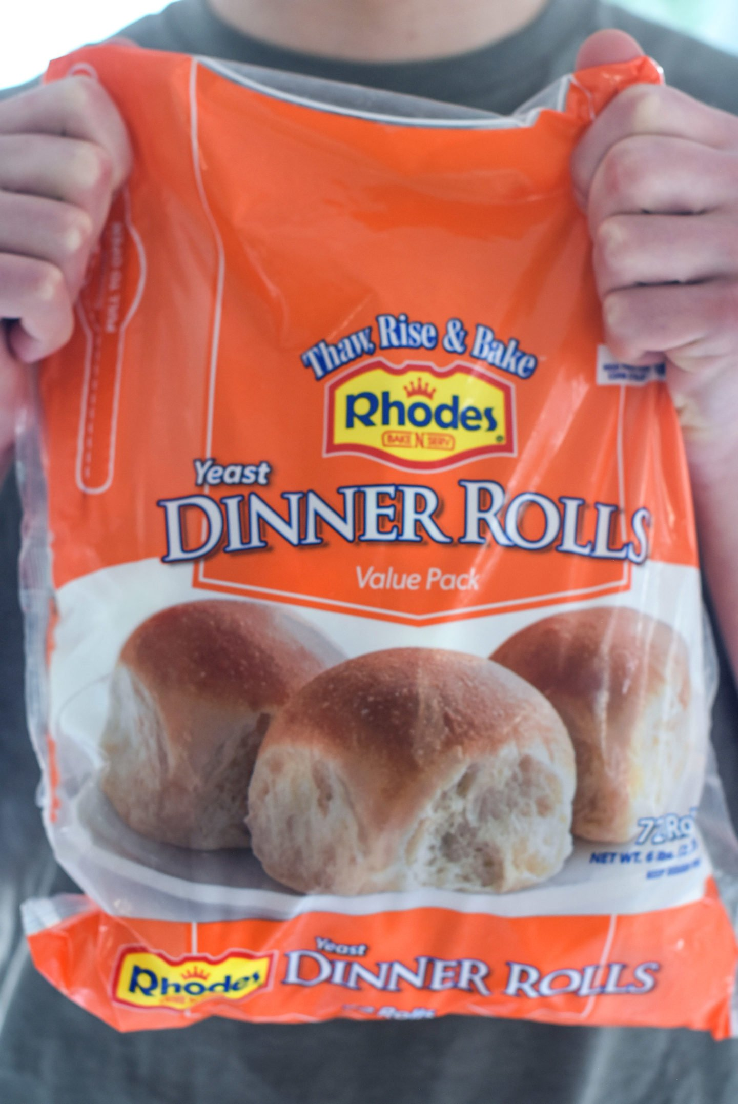 Bacon And Cheese Dinner Rolls Using Rhodes Bake N Serv